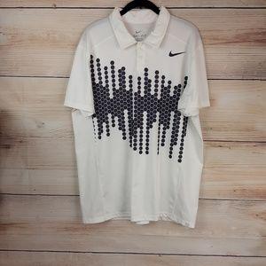Nike Dry-Fit Men's Tennis Polo Shirt Size L